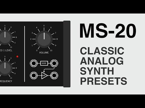 Free Korg MS-20 Waveform Sample Pack Released By ELPHNT