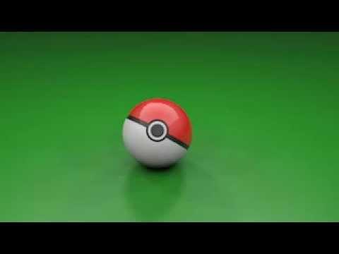Pokeball in cinema 4D