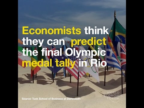 Economists think they can predict the final Olympic medal tally in Rio