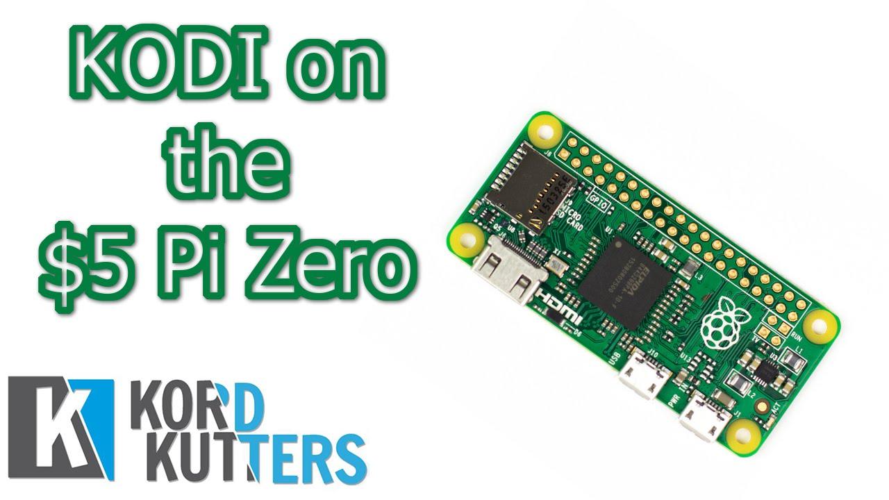 Kodi On The 5 Raspberry Pi Zero Youtube