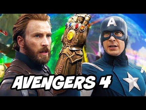 Avengers Infinity War Captain America Ending Explained By Chris Evans