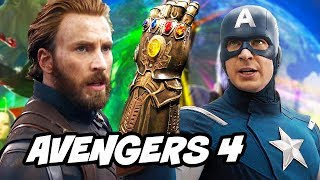 Avengers Infinity War Captain America Ending Explained By Chris Evans