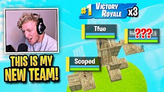 Tfue MIND BLOWN After Creating BEST New Trio to DESTROY Everyone! (Fortnite)