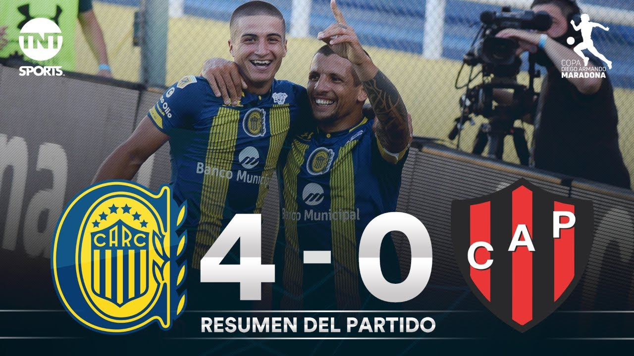 Resumen de Rosario Central vs Patronato (4-0) | Fecha 1 Grupo A - Fase Complement. Copa Maradona