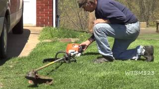 Stihl FS 90 R ,4-Mix ,After Using For A Year.