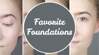 My Favorite Foundations - Dry Skin (Review + Demo) | geekNchic