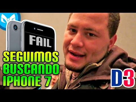 NO iPhone en NEW YORK SEGUNDO FAILED