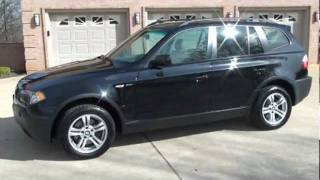 2004 BMW X3 3 O I  AWD FOR SALE SEE WWW SUNSETMILAN COM