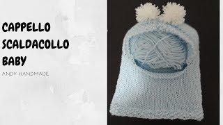 Cappello scaldacollo baby ai ferri 6d9778bcc74b