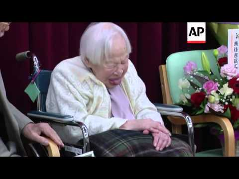 114-year-old recognised by Guinness Book as world's oldest woman