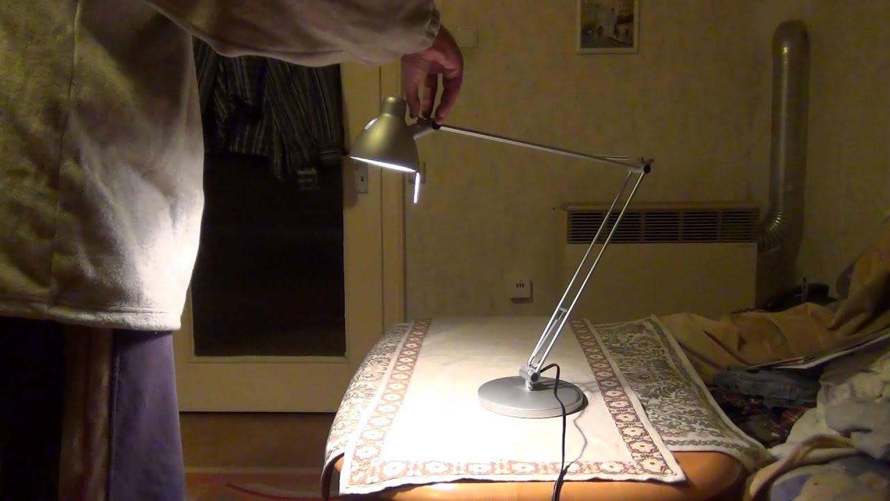 ikea tischlampe test youtube. Black Bedroom Furniture Sets. Home Design Ideas
