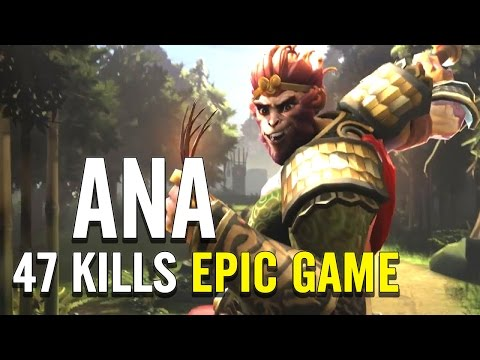This is What Happens When Monkey King 8K vs 2K ◄ Ana Dota 2 Gameplay