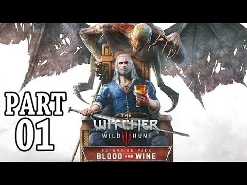 Lets Play The Witcher 3 Blood and Wine Gameplay German Deutsch PS4 Walkthrough