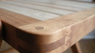 Hand Planing and Sharpening - The Funeral Chair part two.