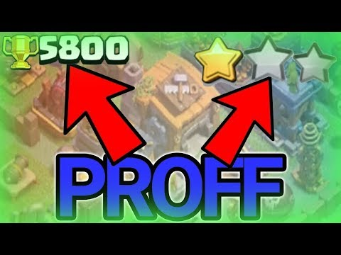 NEW MOST DEFENSIVE BH7 BASE 5800+ TROPHY WITH PROFF!!   BEST BH7 BASE DESIGN 2017   ANTI 1 STAR BASE