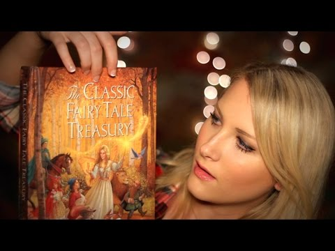 Bedtime Fairy Tales 2 - Binaural ASMR - Soft Spoken/Whisper, Reading, Page Turning, Tapping