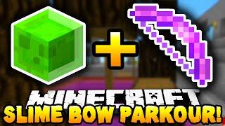 Minecraft - SLIME BOW PARKOUR! #1 (BRAND NEW!) w/ PrestonPlayz