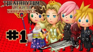 Theatrhythm Final Fantasy: Curtain Call - Walkthrough Part 1 Music Stage - Final Fantasy VII