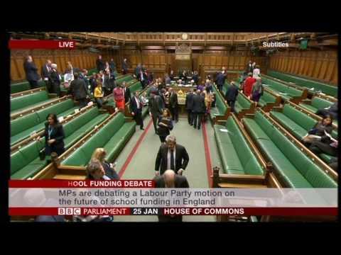 Deputy Speaker chastises Michael Gove House of Commons
