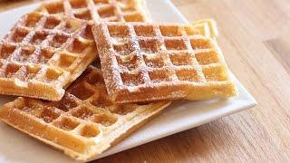 Recette de gaufres fait maison / easy waffles recipe