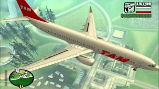 Avião Da TAM no Gta San Andreas