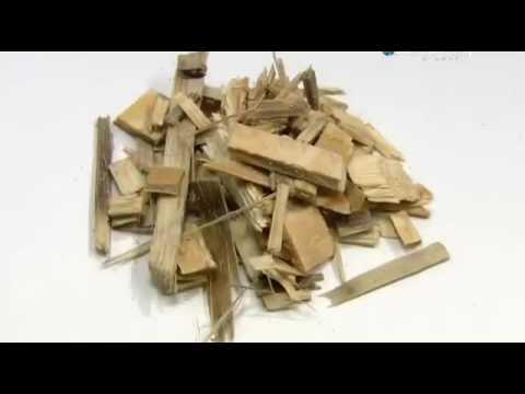 Как это сделано - Древесные гранулы (пеллеты)