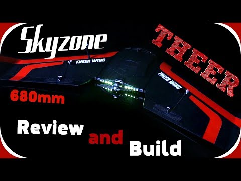 Skyzone THEER 860mm Обзор и сборкаКачественно и дорого?