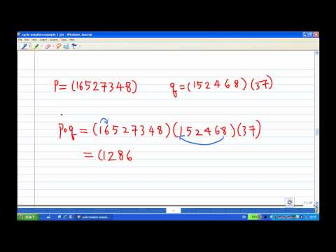 Product of cycles example 1