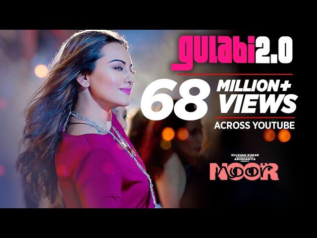 Noor : Gulabi 2.0 Video Song | Sonakshi Sinha | Amaal Mallik, Tulsi Kumar, Yash Narvekar |T-Series