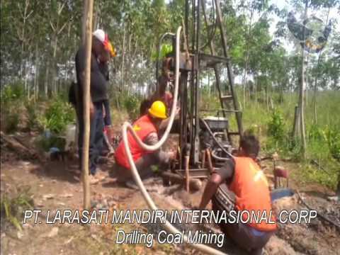 Drilling Coal Mining