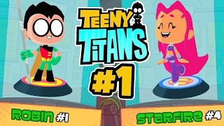 Teeny Titans (By Turner Broadcasting System) - iOS/Android - Gameplay Part 1