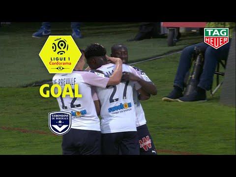 Goal Josh MAJA (13') / Nîmes Olympique - Girondins de Bordeaux (2-1) (NIMES-GdB) / 2018-19