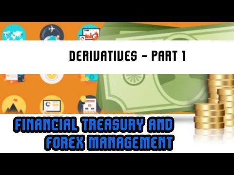 Financial Treasury & Forex Management | Derivatives - Part 1 | Lecture 26