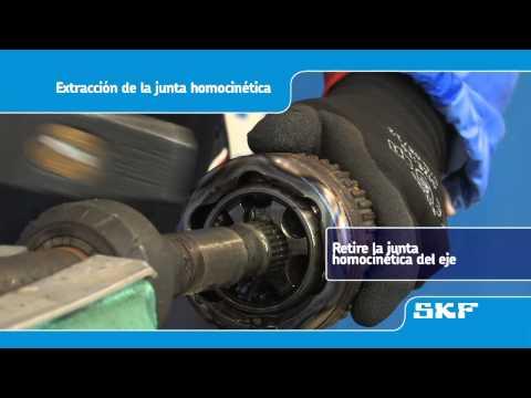 SKF - Instalación de la nueva junta homocinética VKJA 5342 Renault Laguna