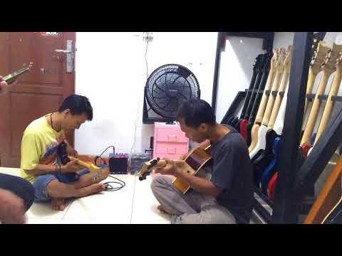 Latihan dangdut lagu Kehilangan-Rhoma irama - gitaris kidal mantap