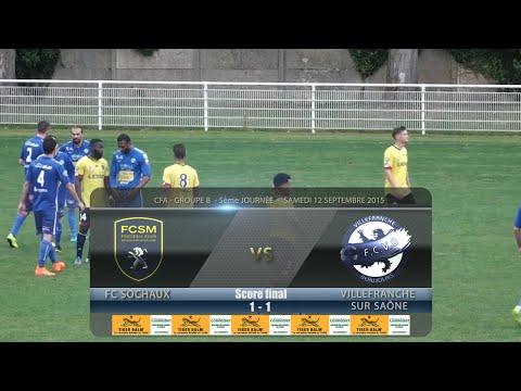 Foot - FC Sochaux B /  FCVB Villefranche -12/09/2015