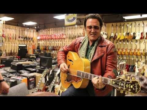 Sylvester Stallone buys his brother Frank a very special gift here at Norman's Rare Guitars