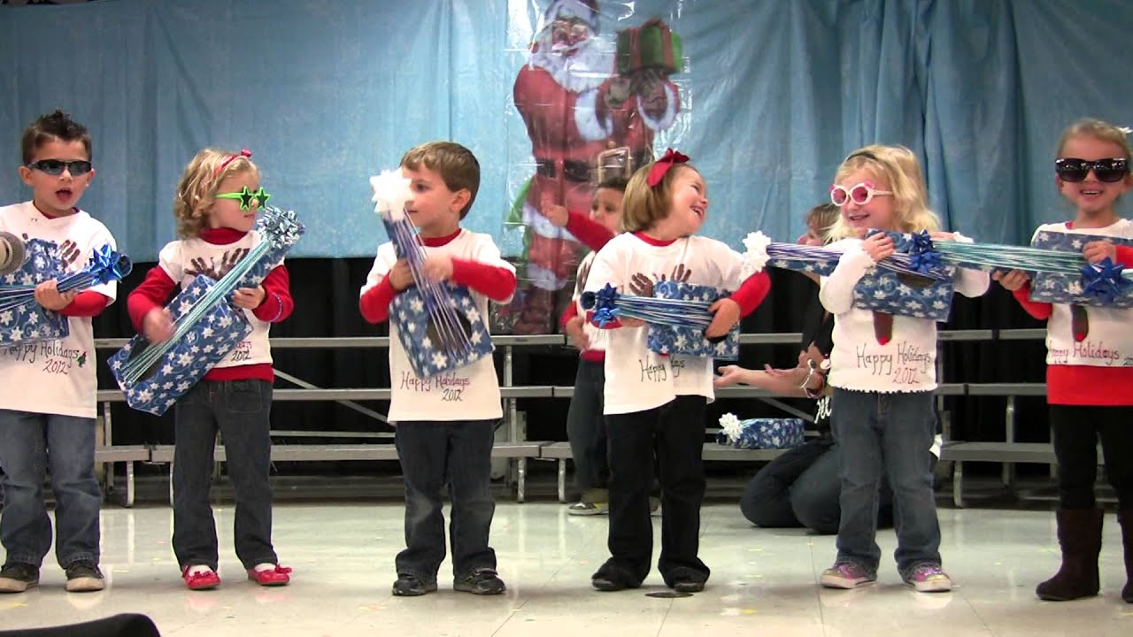 CCLC Christmas Show 2012 - Preschool B - YouTube