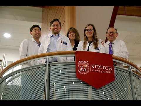 Loyola Medical School Triplets Following The Family Tradition