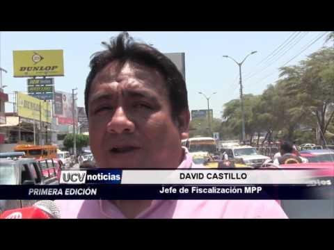 TRANSPORTISTA SE PONE DELANTE  DE GRÚA-UCV NOTICIAS PIURA