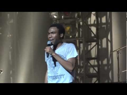 """Childish Gambino - """"Break (All of the Lights remix)"""" (Live in Los Angeles 11-12-11)"""