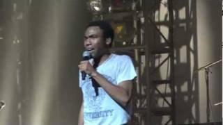 "Childish Gambino - ""Break (All of the Lights remix)"" (Live in Los Angeles 11-12-11)"