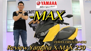 FIRST REVIEW YAMAHA XMAX 250 INDONESIA