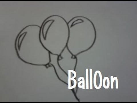 Dessiner Des Ballons De Baudruche Youtube