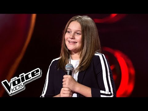 Elena Ewangelopulu - 'Man of the Woods' - Przesłuchania w ciemno - The Voice Kids 2 Poland