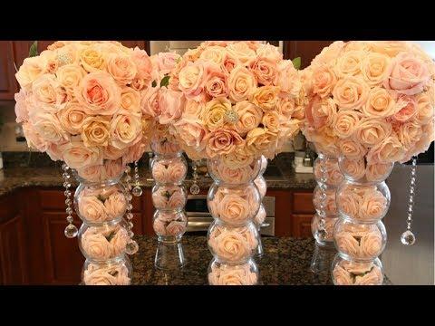 DIY Fishbowl Wedding Centerpieces From Elegant Creators