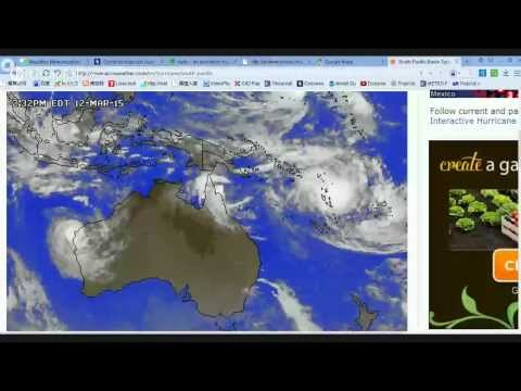 LIVE Discussion on Cyclones Pam, Nathan, Olwyn, Bavi - March 12/13, 2015