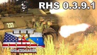 Arma 3 RHS  0.4.0 - Война на сервере UralServer66