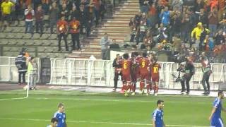 Belgique 3 - 1 Bosnie   1-1 Marouane Fellaini