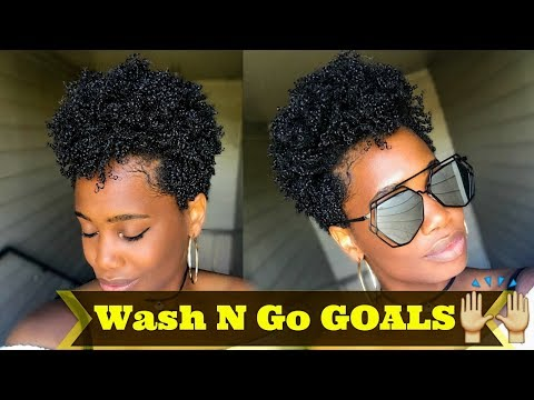 Super DEFINED Wash N Go on Type 4 Tapered Natural Hair - #1 | MissKenK